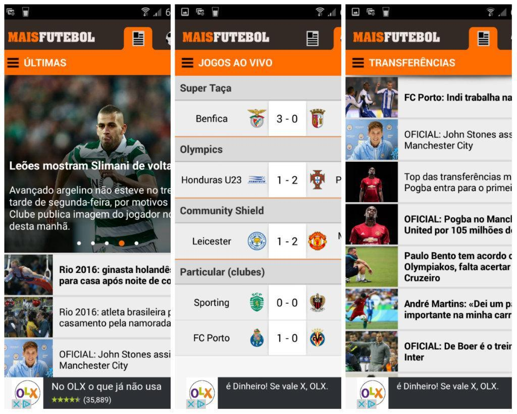 App Maisfutebol