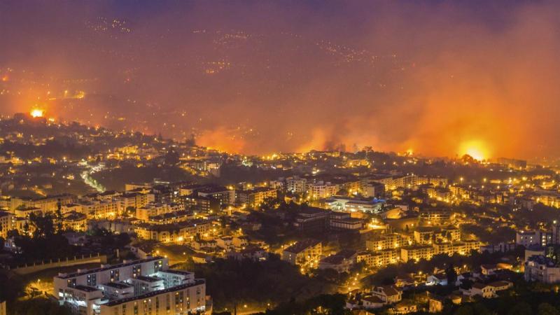 Incêndio na Madeira