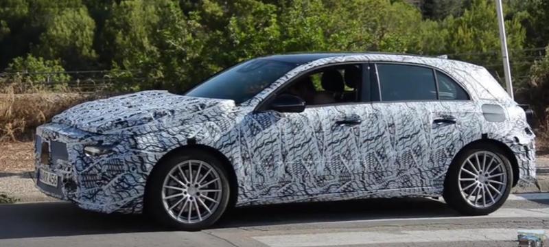 Protótipo do próximo Mercedes-Benz Classe A