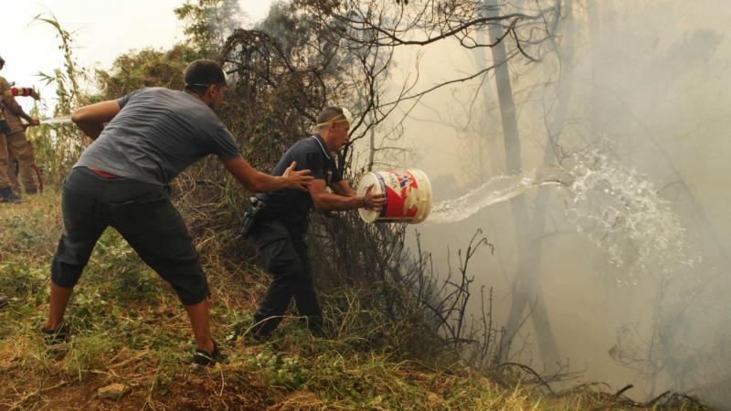 Incêndio no Funchal