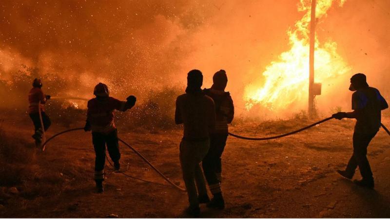 Incêndio no distrito de Viseu