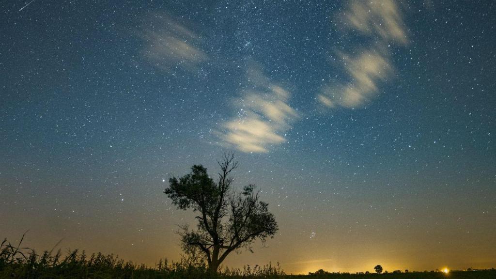 Chuva de meteoritos Perseidas
