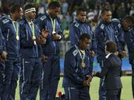 Fiji conquistam primeira medalha...e de ouro, no râguebi de sete (Reuters)