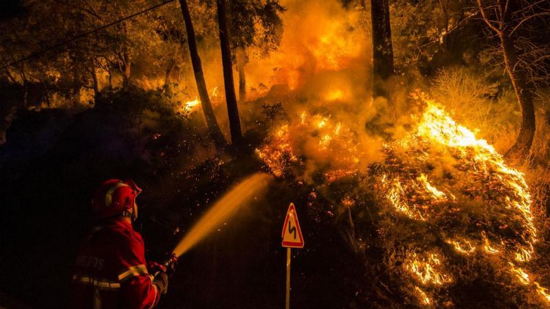 Incêndio em Baião