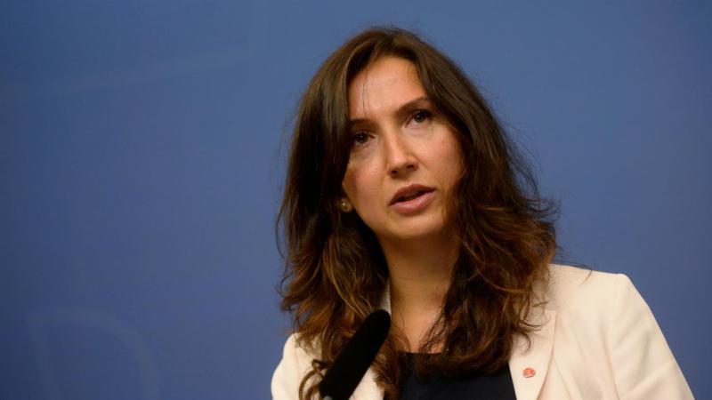 Aida Hadzialic, ministra da educação sueca