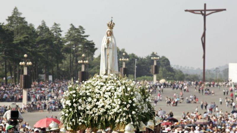Procissão do Adeus no Santuario de Fatima