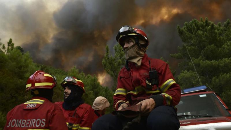 Incêndio em São Pedro do Sul