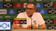«Foi um prazer ter começado no futebol português»