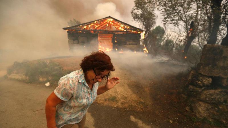 Fogo em São Pedro do Sul