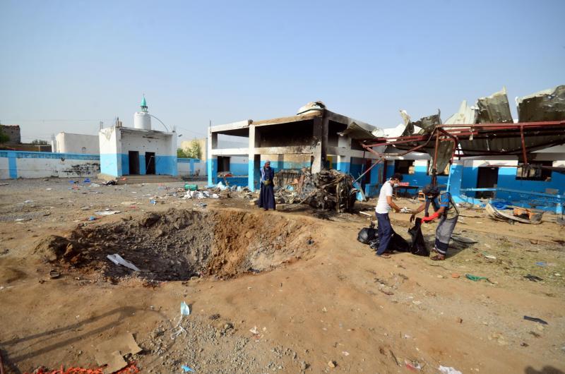 Hospital dos Médicos Sem Fronteiras destruído após bombardeamento