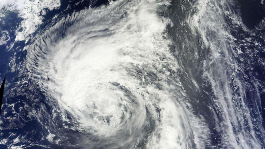 Tempestade tropical [Foto: NASA]