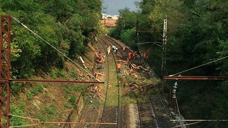 Dezenas de feridos em acidente de comboio no sul de França
