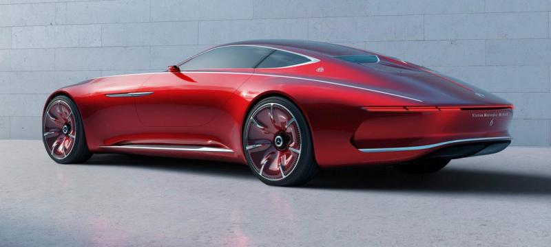 New Vision Mercedes-Maybach 6