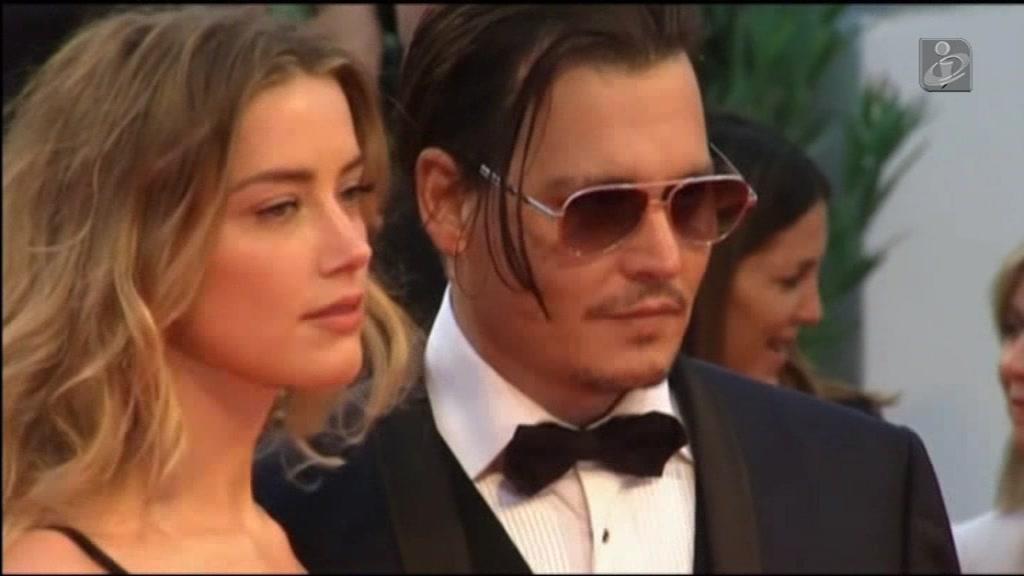 Johnny Depp e Amber Heard chegam a acordo de divórcio