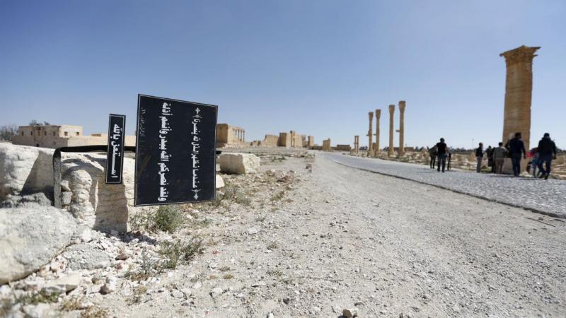 Isto é o que fica quando o Estado Islâmico abandona uma cidade...