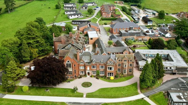 Escola Abbotsholme no Reino Unido