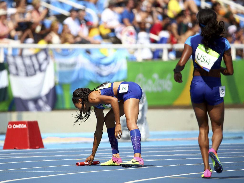 Estafeta 4x100 feminina (Reuters)