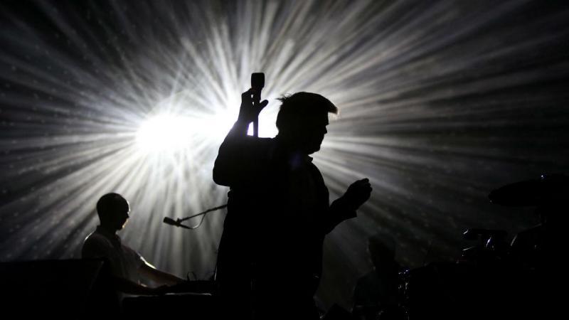 LCD Soundsystem no Festival Vodafone Paredes de Coura [Foto: Estela Silva/ Lusa]