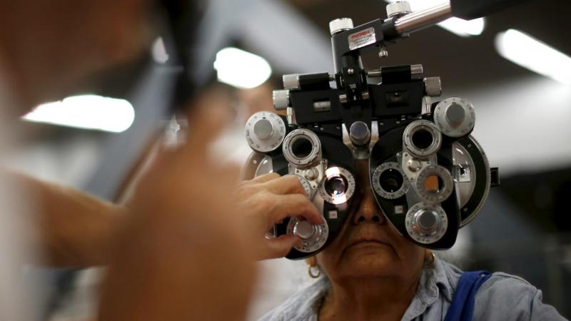 Exame aos olhos