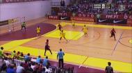Futsal: o golo que empatou o jogo na primeira parte