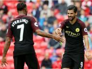 Stoke City-Man City (Reuters)