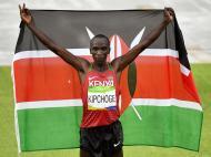 Eliud Kipchoge vence maratona (Lusa)