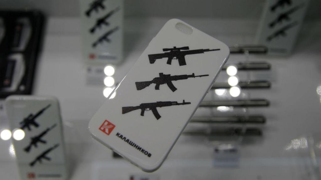Kalashnikov abre loja em aeroporto de Moscovo