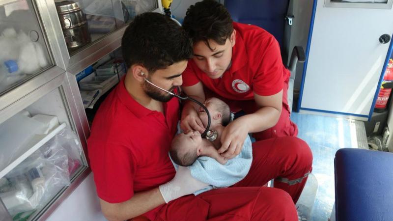Bebés siameses sírios