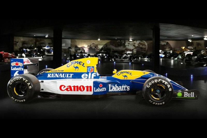 Williams FW14B 10