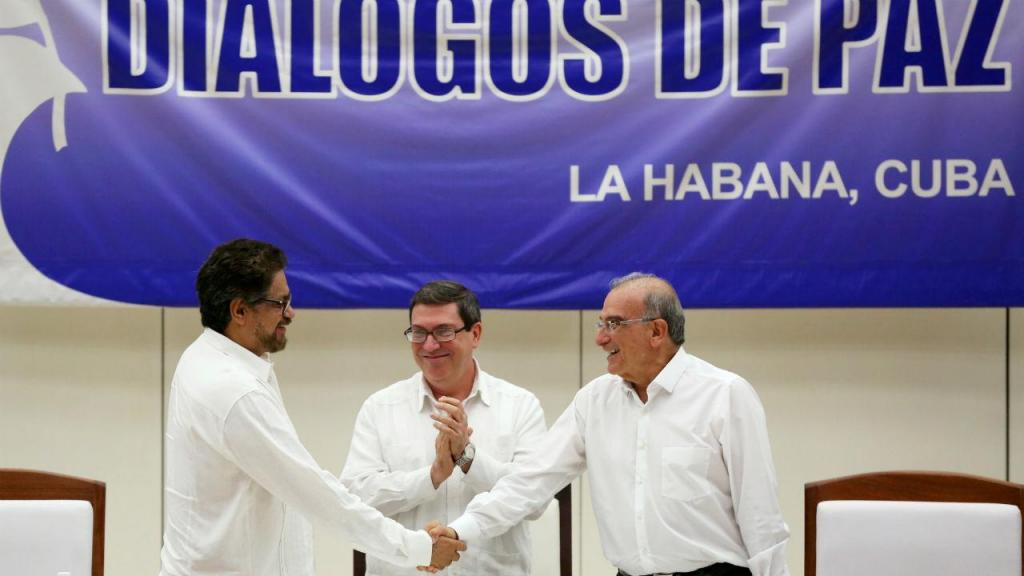 Colômbia, finalmente, em paz