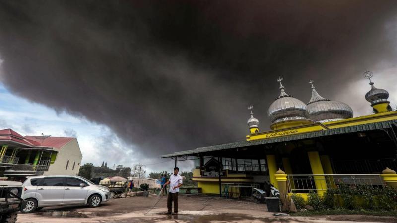 Vulcão Sinabung