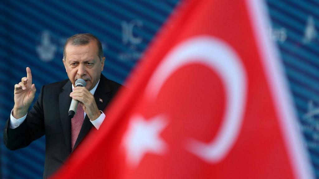 Cerimónia de inauguração da ponte Yavuz Sultan Selim