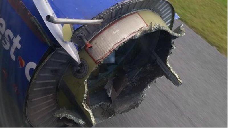 Motor danificado