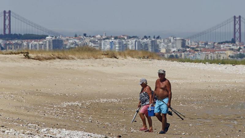 Praia da Ponta dos Corvos (Seixal)