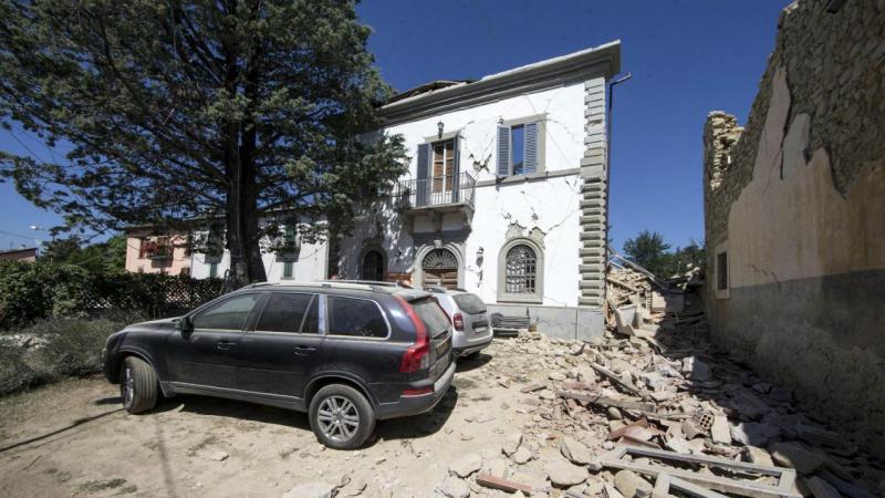 Casa de Maria e William Henniker-Gotley em Itália