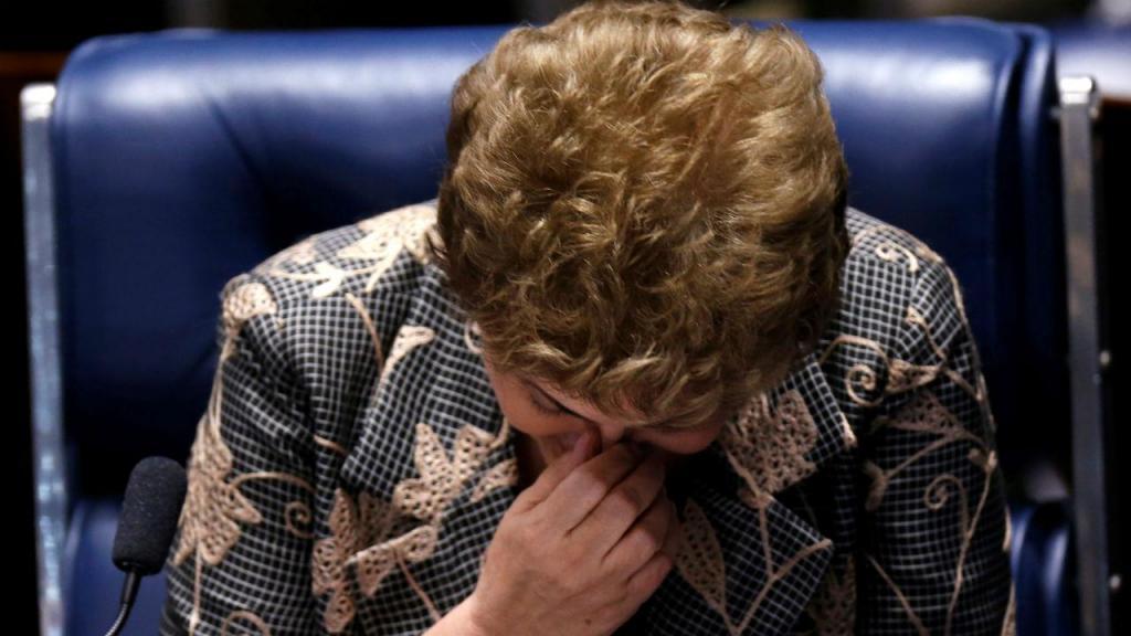 Dilma Rousseff ouvida no processo de impeachment