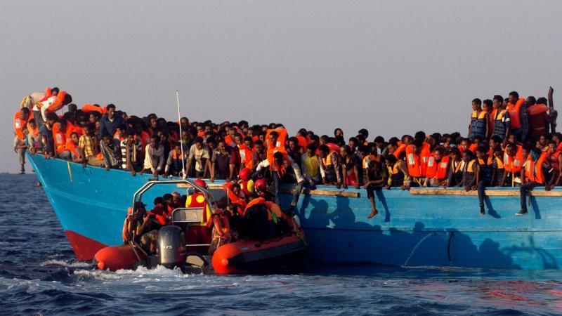Milhares de migrantes resgatados nos últimos dias