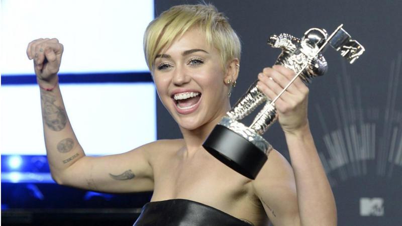 Miley Cyrus nos VMA 2014
