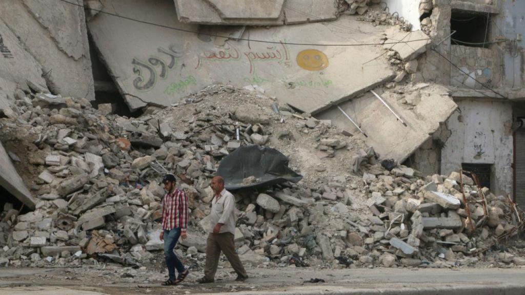 O dia a dia em Alepo