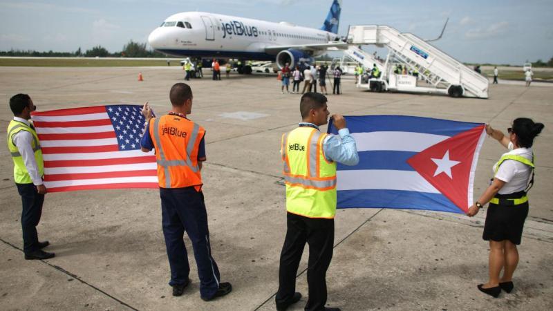 50 anos depois, voo EUA-Cuba