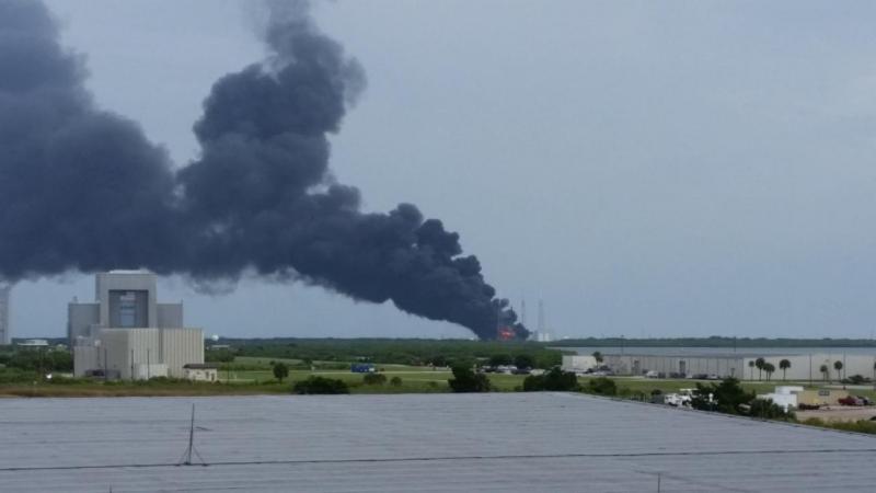 Explosão ocorre durante teste de rocket da SpaceX
