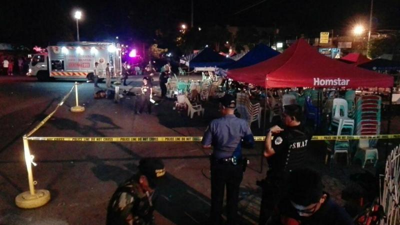 Explosão em mercado faz vários mortos em Davao, nas Filipinas