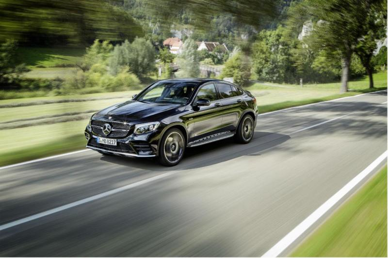 Mercedes GLC Coupé 43 AMG