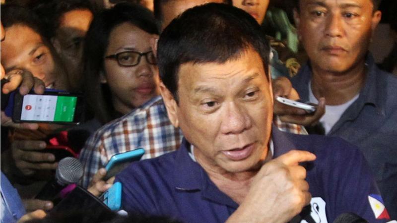 Presidente filipino foi ao local do atentado