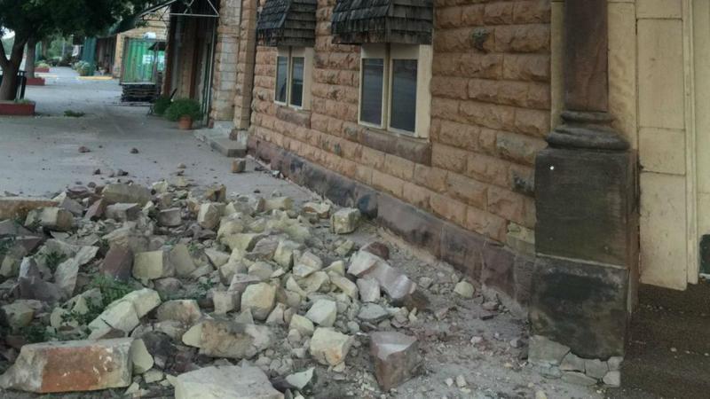 Terramoto em Pawnee, Oklahoma