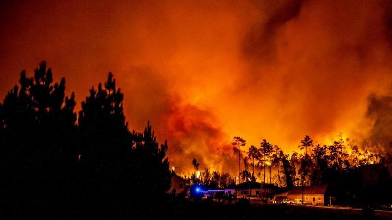 Incêndio em Colmeias, Leiria