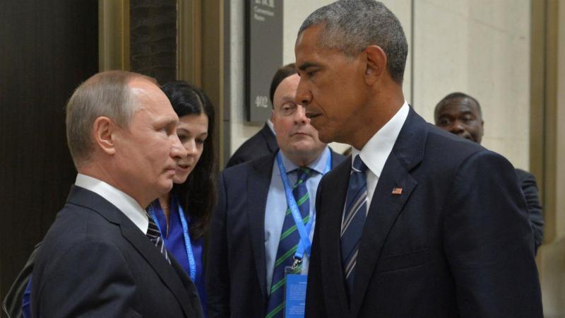 Obama tenta convencer Putin