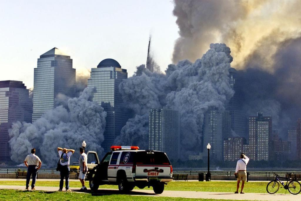 11 de setembro [Foto: Ray Stubblebine / Reuters]