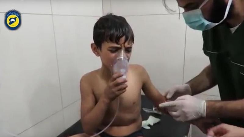 Governo sírio terá atacado zona rebelde com gás cloro