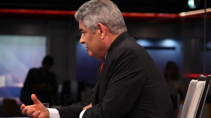 Luís Filipe Vieira no Jornal das 8